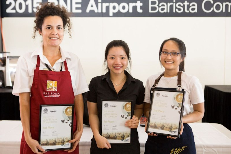 Barista coffee awards 2015